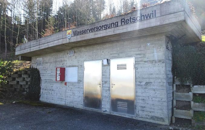 Roemerswil-Wasserreservoir